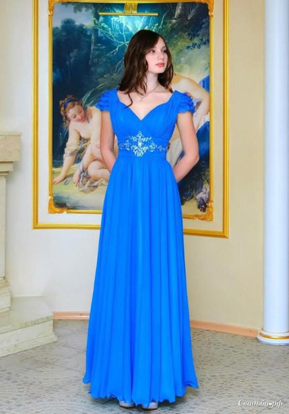 Фото в вечернем платье в пол