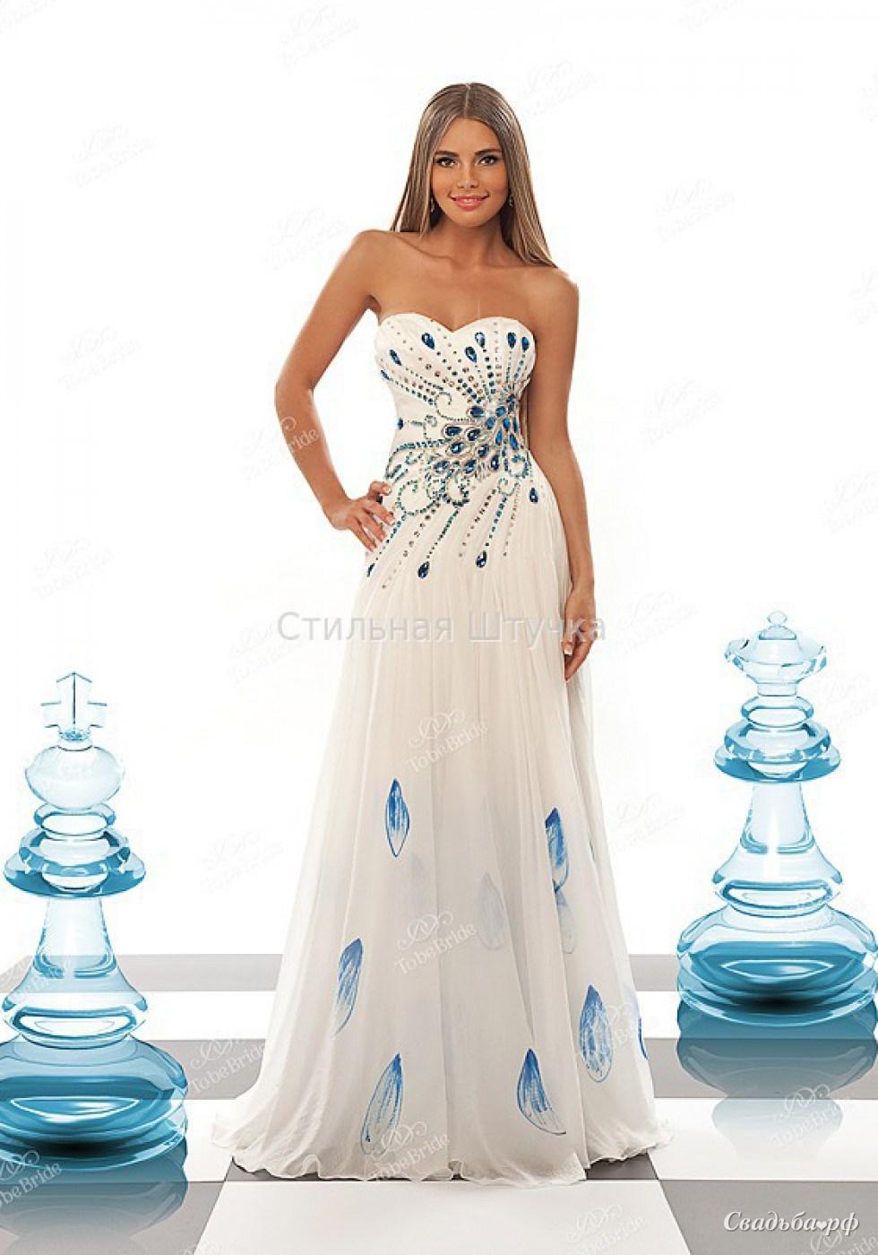 Свадебное платье С0013В-Б835 - Свадебный салон Бутик вечерней моды Стильная Штучка
